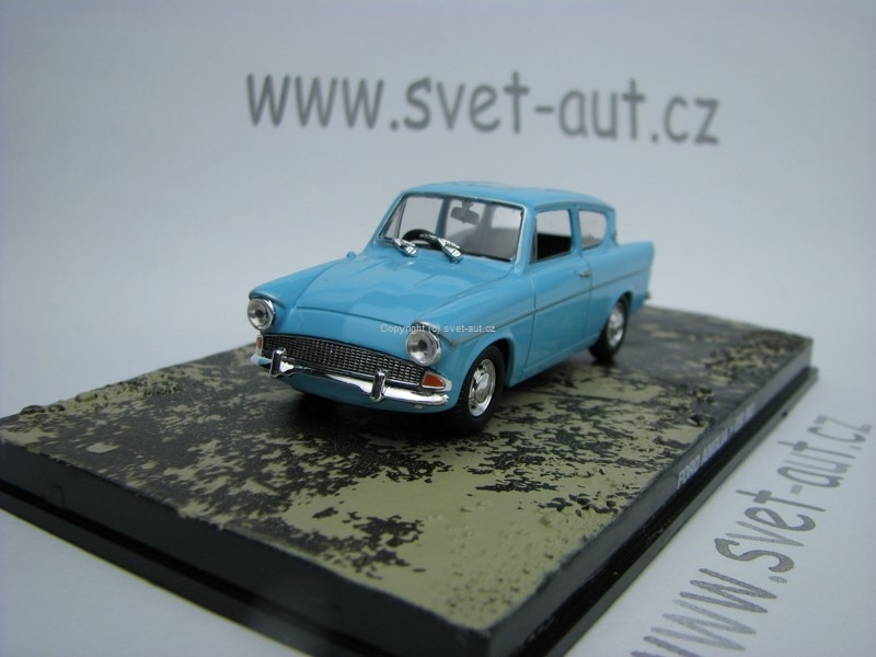 Ford Anglia Dr No James Bond 007 1:43 Universal Hobbies
