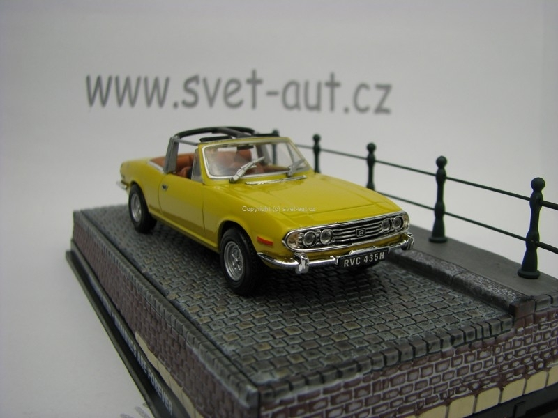 Triuph Stag Diamonds are Forever James Bond 007 1:43 Universal Hobbies