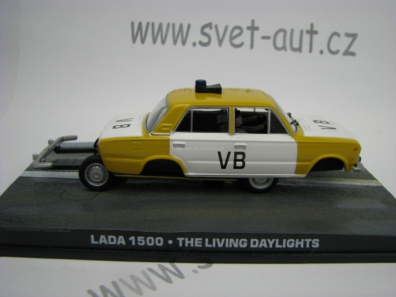 Lada 1500 The Living Daylights James Bond 007 1:43 Universal Hob