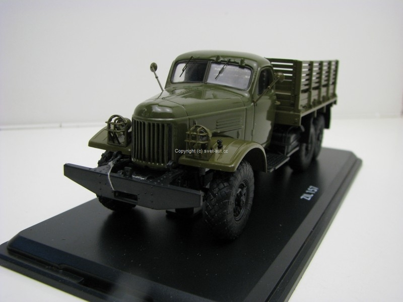 Zil 157 Truck Olive Green 1:43 Start Scale Models