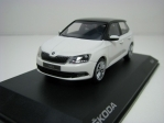 Škoda Fabia III White Candy Black Roof 1:43 i-Scale