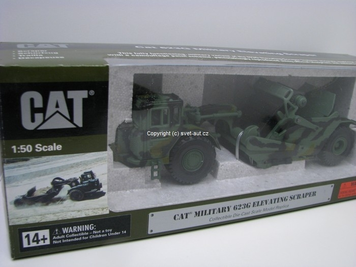 Caterpillar CAT 623G Military Scraper 1:50 Norscot