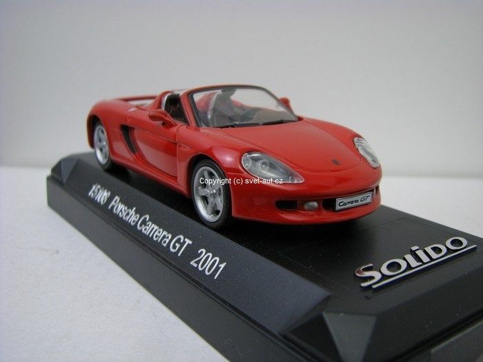 Porsche Carrera GT 2001 Red 1:43 Solido