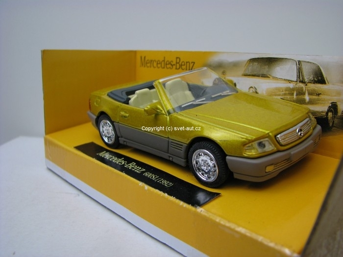 Mercedes-Benz 600SL Cabrio 1992 1:43 New Ray