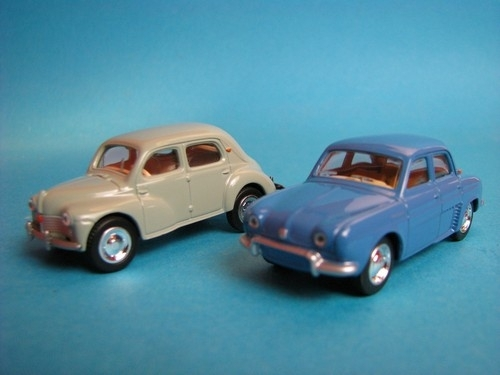 Renault Dauphine 1946 a 1956 Grey a blue Norev