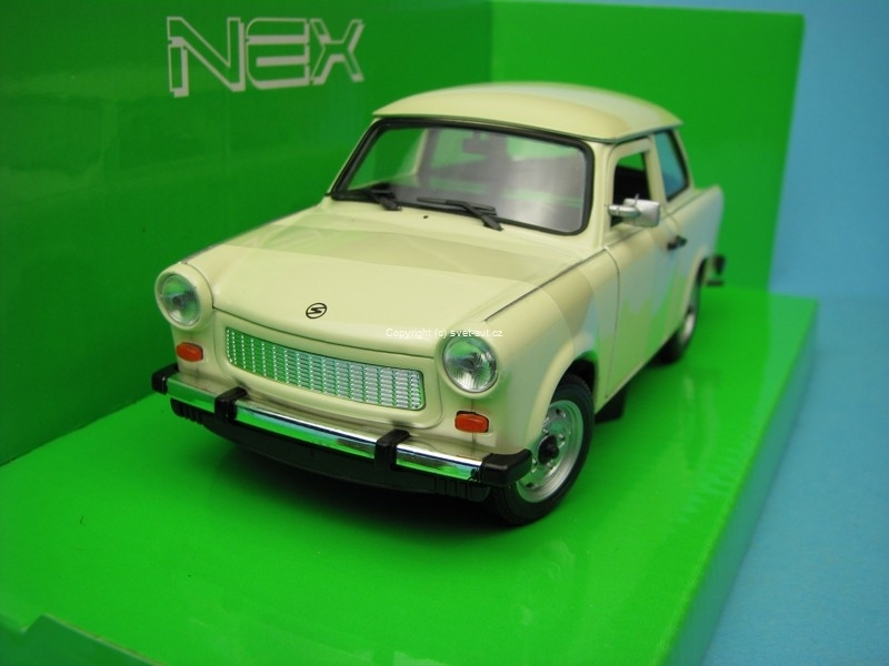 Trabant 601-S deluxe creme 1:24 Welly