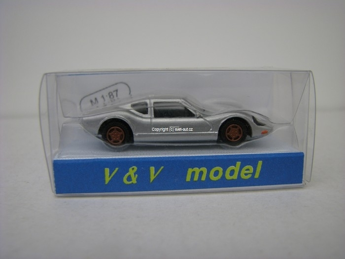 Melkus RS 1000 silver 1:87 VV Model