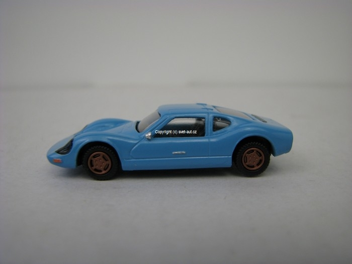 Melkus RS 1000 blue 1:87 VV Model