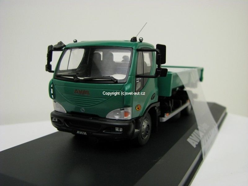 Avia D-Line Container green 1:43 Foxtoys