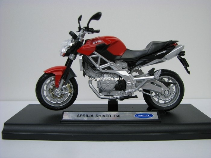 Aprilia Shiver 750 1:18 Welly