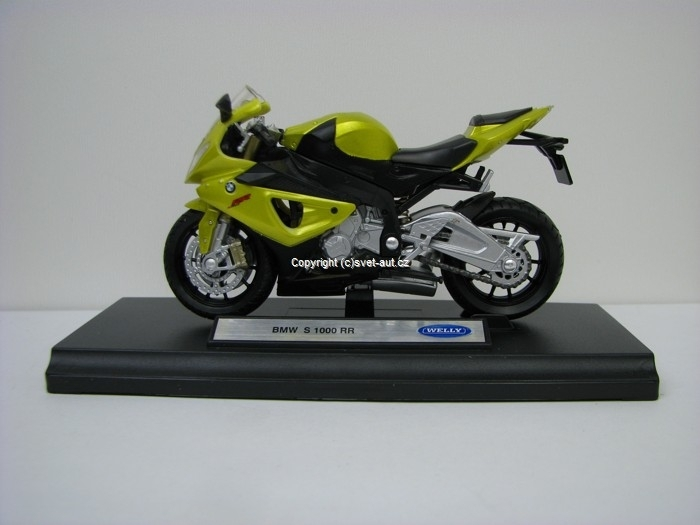 BMW S 1000 RR 1:18 Welly