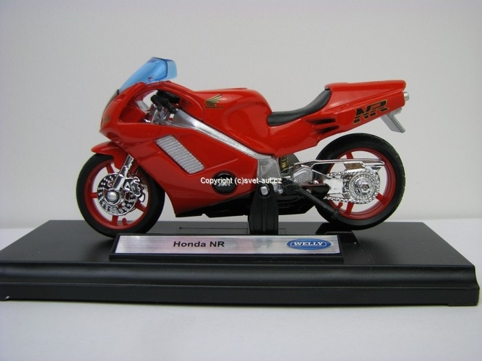 Honda NR red 1:18 Welly