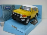 Toyota FJ Cruiser yellow 1:32 - 36 Welly
