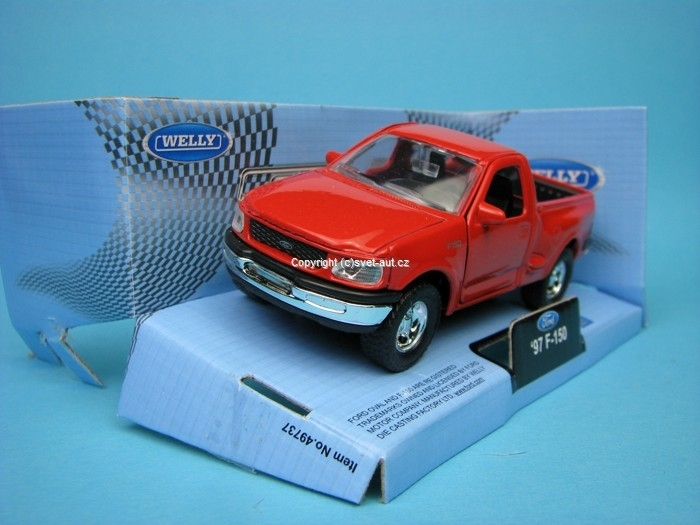 Ford F-150 1997 red 1:32 - 36 Welly