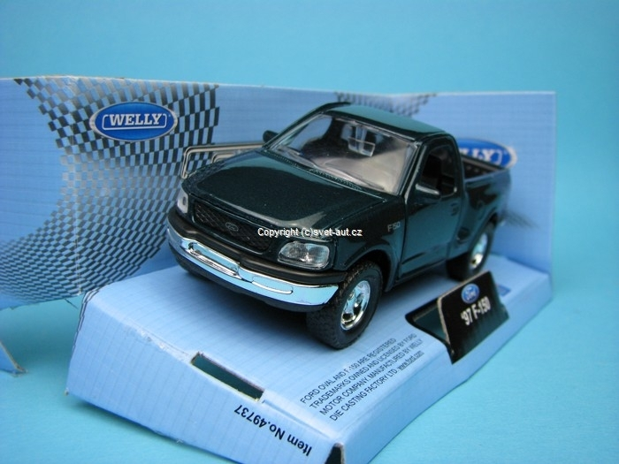 Ford F-150 1997 green 1:32 - 36 Welly