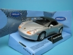 Porsche Boxster Soft top silver 1:32 - 36 Welly