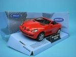 Mercedes SLK350 cabrio open red 1:32 - 36 Welly