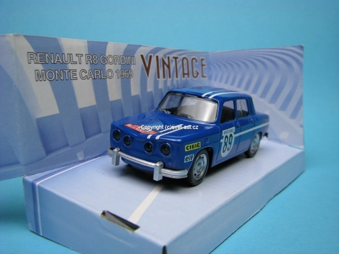 Renault R8 Gordini No.89 MC 1969 1:43 Mondo Motors