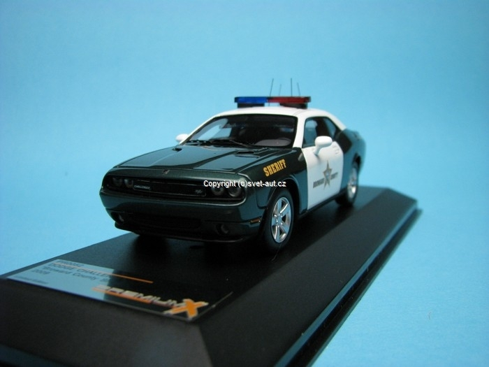 Dodge Challenger R/T Broward County Sheriff 2009 1:43 Premium X