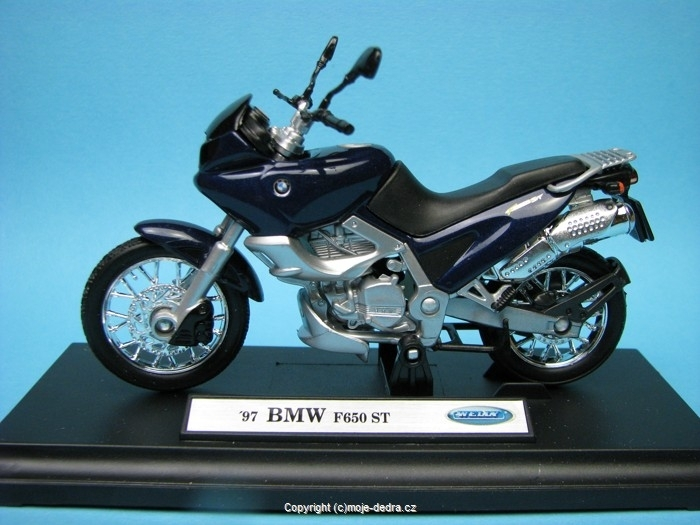 BMW F650 ST 1997 1:18 Welly