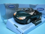 Porsche Boxster Cabrio open green 1:32 - 36 Welly