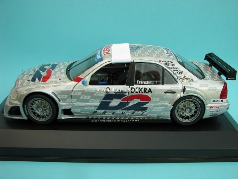 Mercedes AMG C-Klasse No.2 Franchitti ITC 1996 1:18 Exclusiv Car