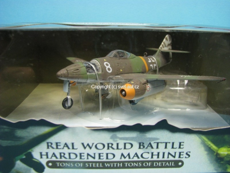 Messerschmitt Me-262 German 1944 1:72 Unimax