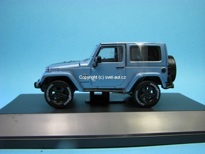 Jeep Wrangler Rubicon 2012 Arctic edition 1:43 Greenlight