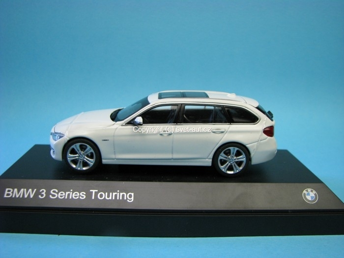 BMW 3 Series Touring 2013 white 1:43 Paragon Models