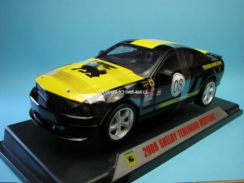 Shelby Mustang GT No.18 Terlingua Racing Team 1:18 Shelby Colect