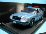 Ford Crown Police Cruiser Twilight 1:18 Greenlight