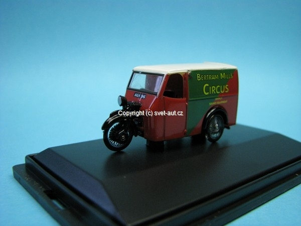 Tricycle Van Bertram Mills Cirkus 1:76 Oxford