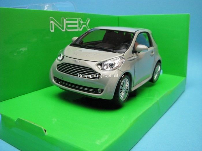 Aston Martin Cygnet beige metallic 1:24 Welly