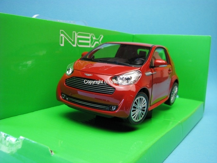 Aston Martin Cygnet red 1:24 Welly