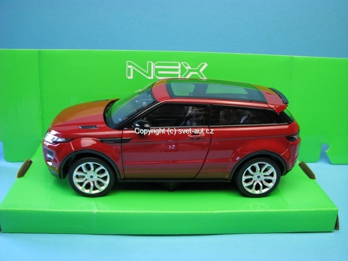 Land Rover Range Rover Evoque red 1:24 Welly