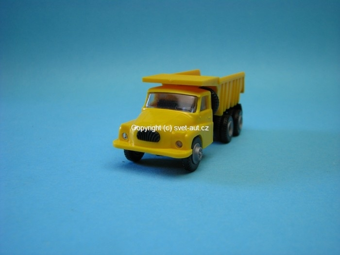 Tatra 138 S1 Sklápěč yellow 1:87 Igra - Model Toys