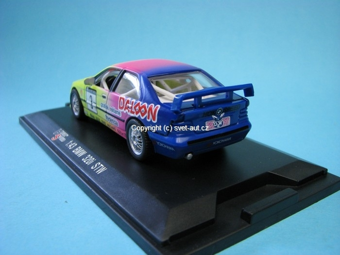 BMW 320i Daloon Kris Nissen No.3 1:43 High Speed