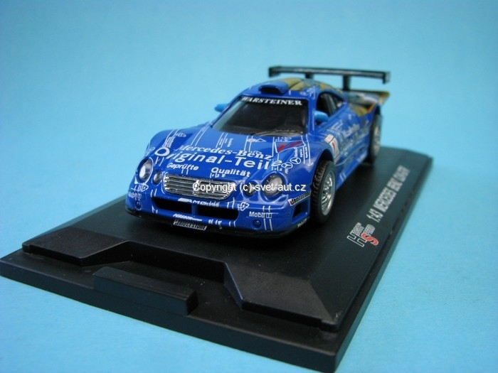 Mercedes-Benz CLK-GTR Original Teile No.12 Becker 1:43 High Speed