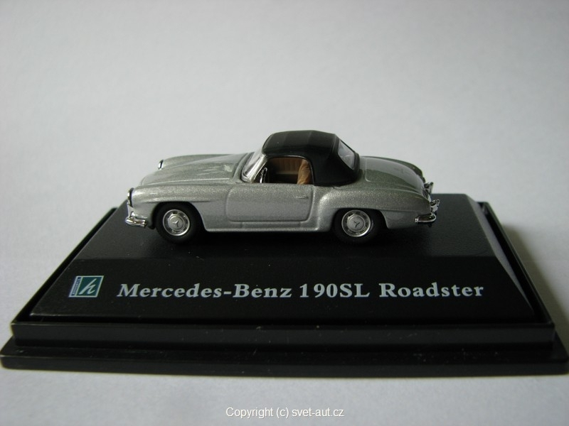 Mercedes 190SL Roadster closed 1:87 Cararama