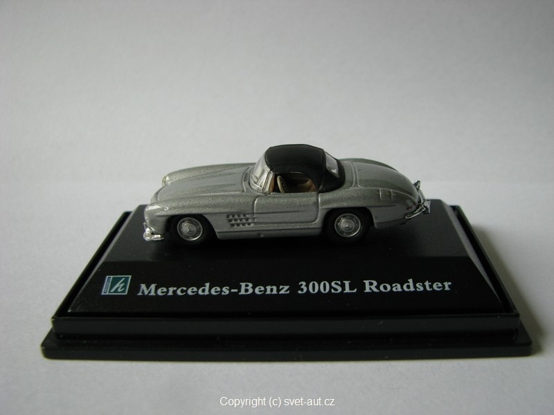 Mercedes 300SL Roadster closed 1:87 Cararama