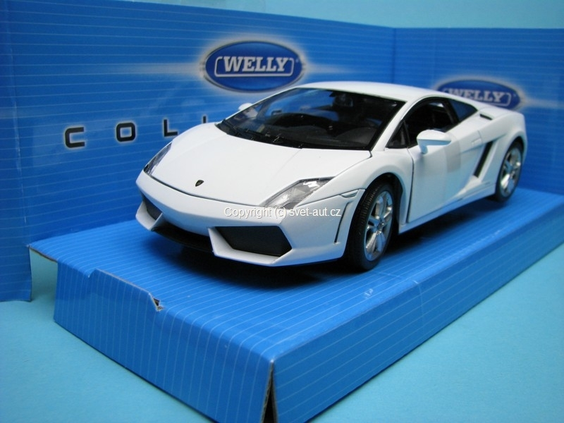 Lamborghini Gallardo LP560-4 White 1:24 Welly