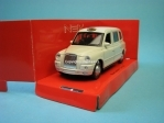 Austin TX4 London Taxi white 1:32 - 36 Welly
