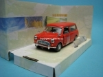 Mini Van red open door 1:43 Cararama