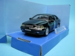Volvo S40 black open door 1:43 Cararama