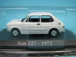 Seat 127 white 1972 1:43 Atlas