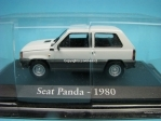 Seat Panda 1980 white 1:43 Atlas