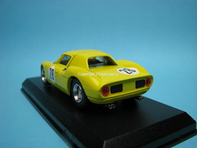Ferrari 250 LM 1000 Km Parigi 1966 No.28 Gosselin 1:43 M4 BEST