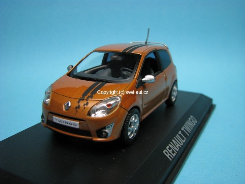 Renault Twingo GT 2007 orange 1:43 Norev