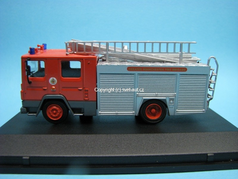 Dennis RS Fire Engine Greater Manchester Fire Brigade 1:76 Oxford