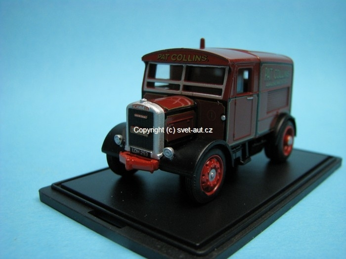 Scammell Showtrac Pat Collins 1:76 Oxford